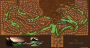desert highlands golf course layout