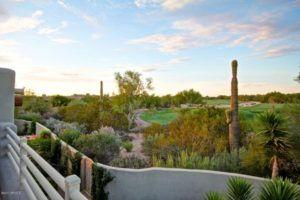 desert highlands home overlooking fairway