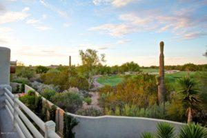 desert highlands home overlooking fairway