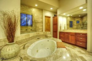 desert highlands master bath
