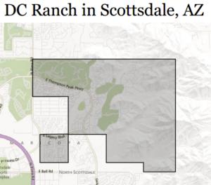 DC Ranch Aerial, Scottsdale Arizona